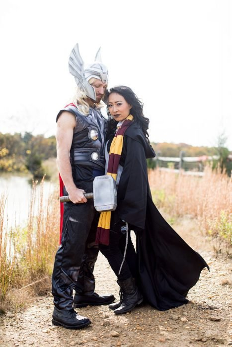 Fotos divertidas de compromiso Harry potter y Thor