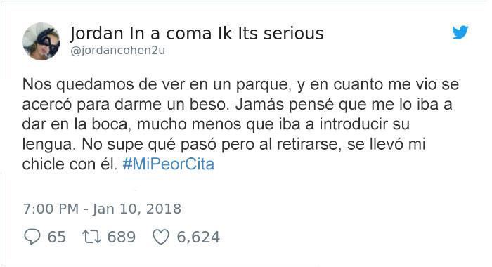 LA PEOR DE LAS CITAS