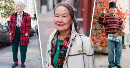 Cover Amigos retratan a el gran estilo de las personas mayores