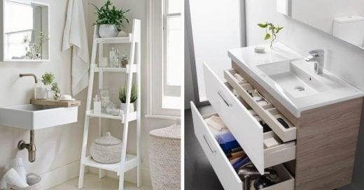Cover Ideas para organizar tu baño