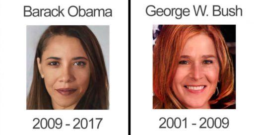 Cover Presidentes de Estados Unidos que se pusieron labial y tacones
