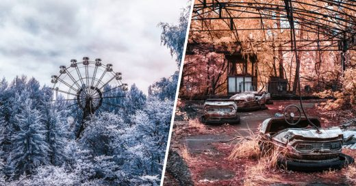 Cover chernobyl en infrarrojo