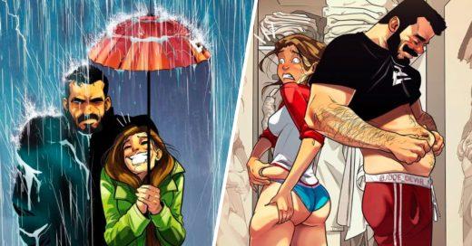 Cover Artista ilustra cómo es la vida con su amada esposa