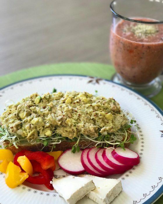Desayuno con verdura