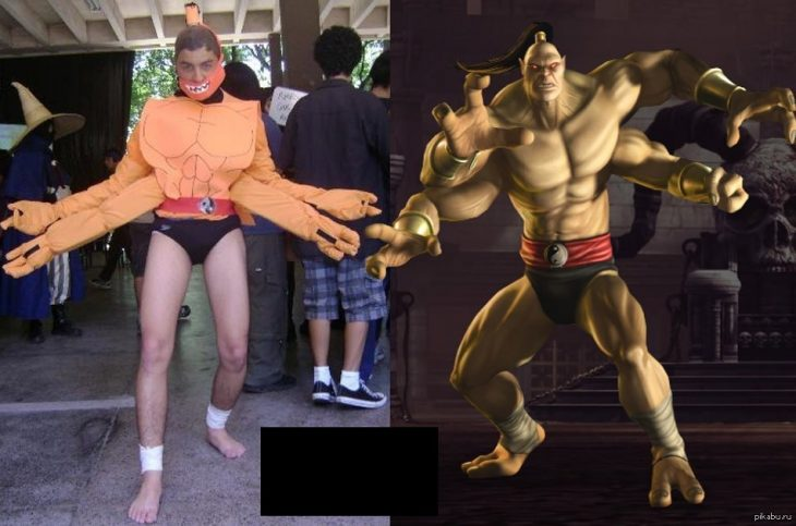 cosplay de bajo presupuesto