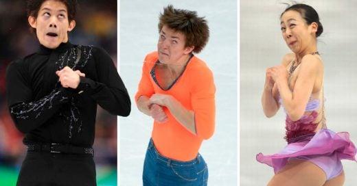 Cover Fotos de los patinadores artísticos tomadas en el momento justo
