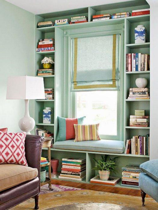 Lugares especiales para leer tranquilamente
