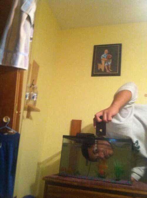 una selfie