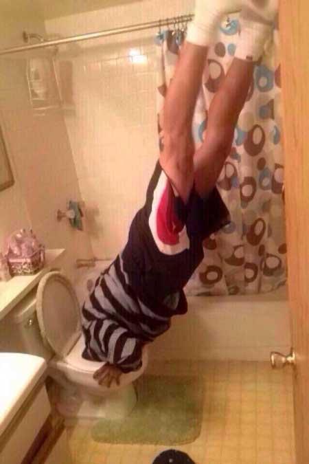 excusado selfie