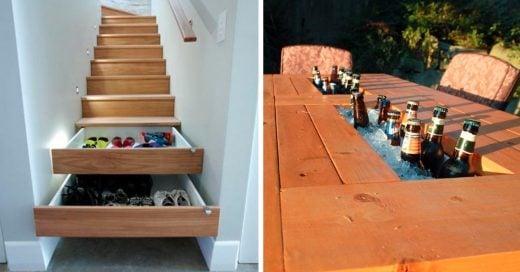Cover diseños inteligentes para decorar casas y espacios pequeños
