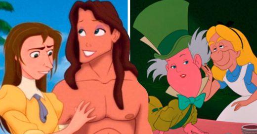 Cover Alguien intercambió las caras entre los personajes de Disney