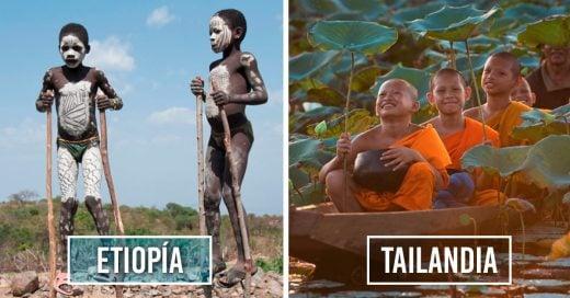Cover Maravillosas fotos de niños del mundo jugando
