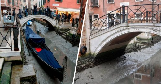 Cover Así sería Venecia sin agua