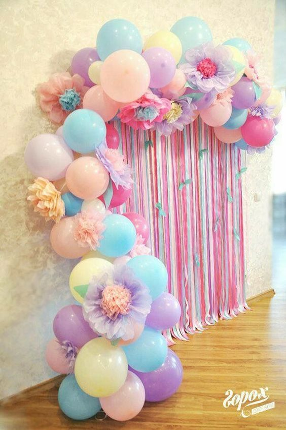 26 ideas divertidas para decorar con globos