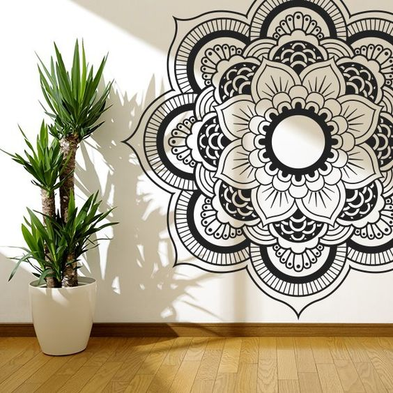 mandala pared