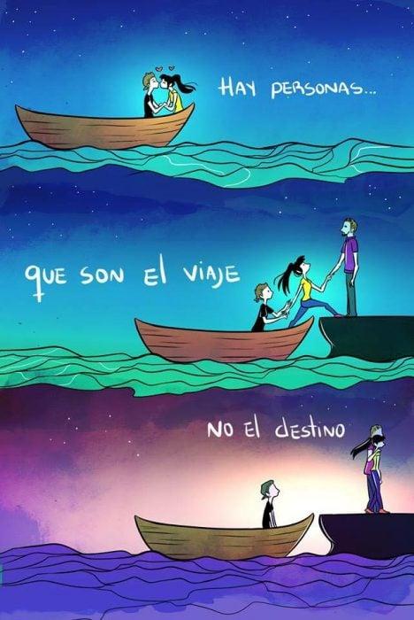 viaje, no destino