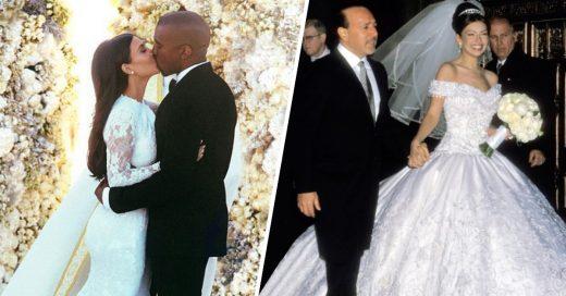 Cover Fotos de famosos en el día de su boda
