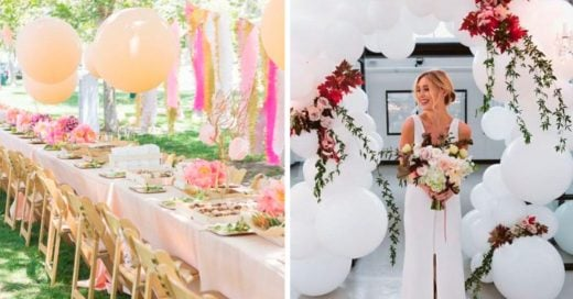 Cover Ideas para decorar con globos gigantes