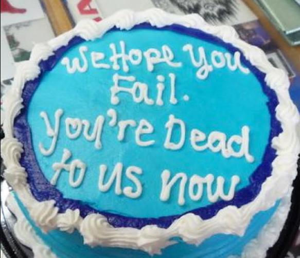 pastel muerto
