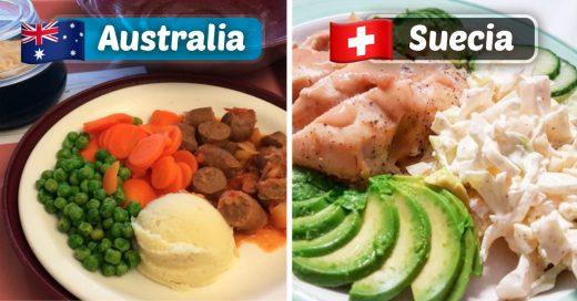 Cover comida de los hospitales en diferentes partes del mundo