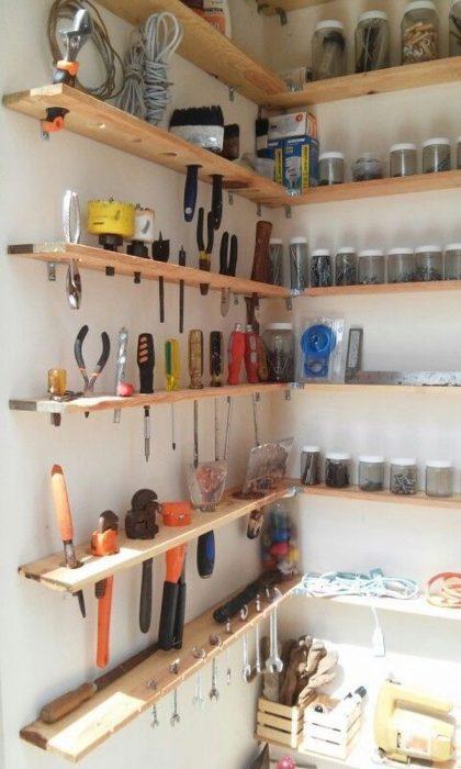 DIY taller organizado