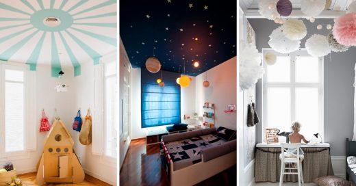 Cover Ideas para decorar el techo