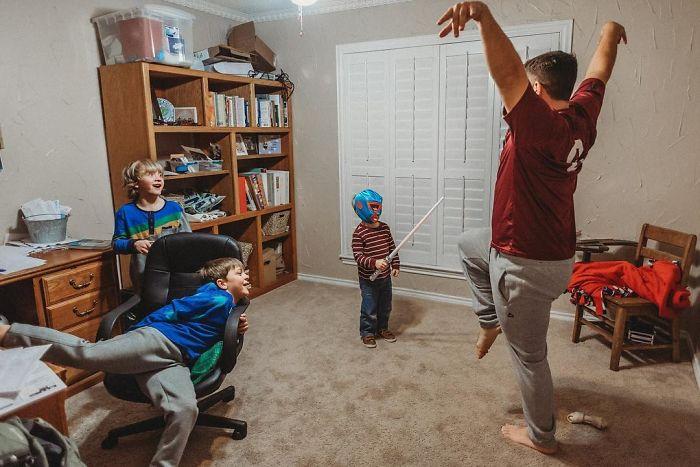 Niños divertidos