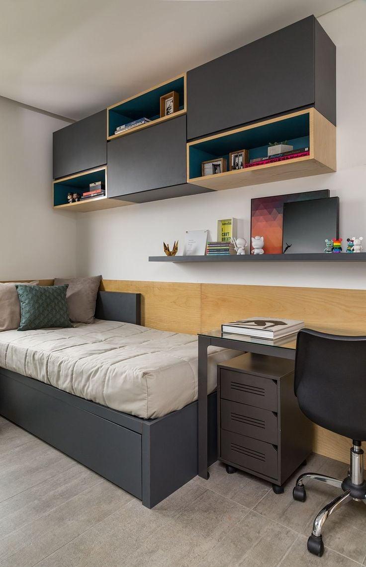 Con estas 13 ideas convertir s tu mini cuarto en una mansi n - Ideas camas para espacios reducidos ...