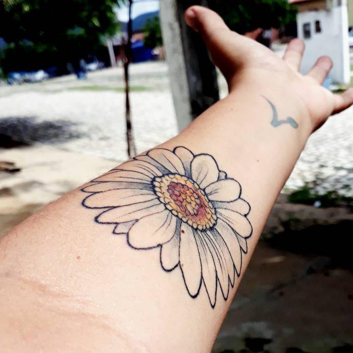 tatuaje de margarita
