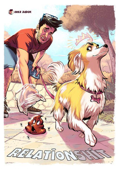 recoger popo perro