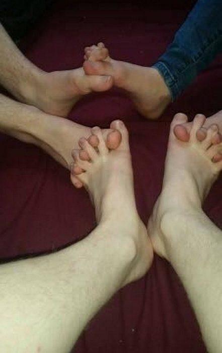 pies manos