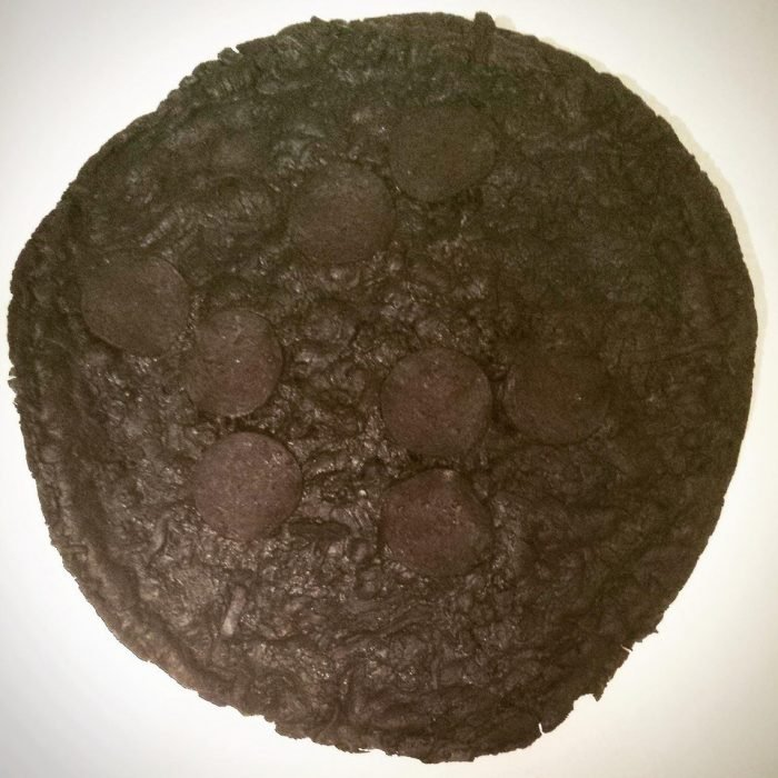 pizza quemada