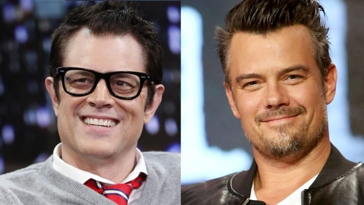 Johnny Knoxville y Josh Duhamel