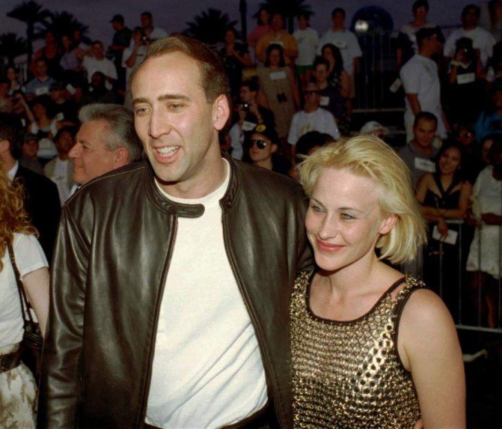 Nicolas Cage y Patricia Arquette