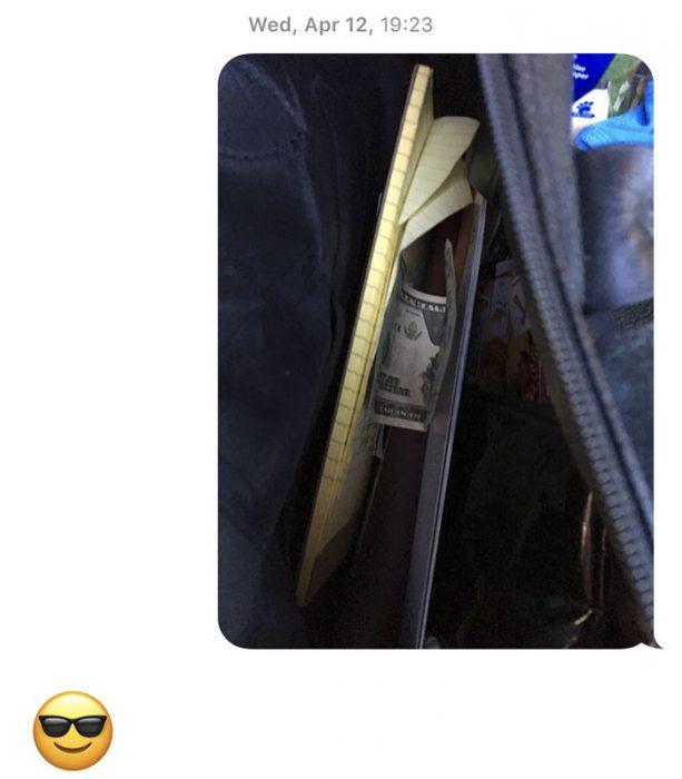 Papá esconde dinero en la casa de su hija