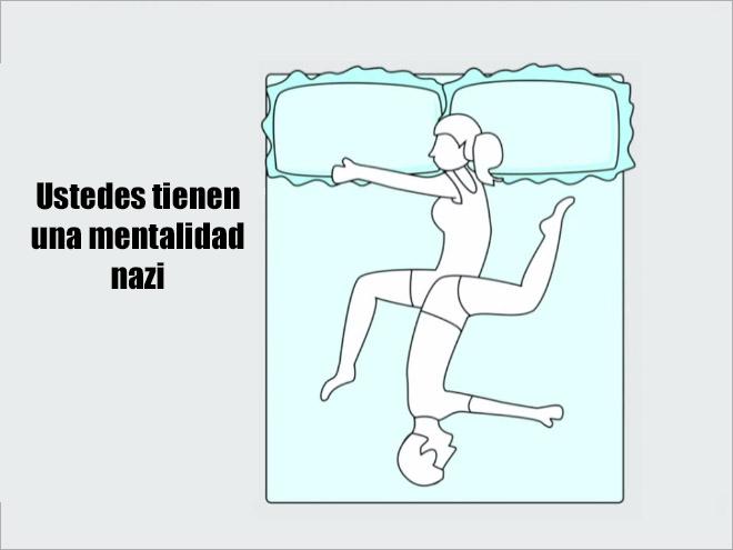 Posiciones en las que duermen revelan Recreo Viral