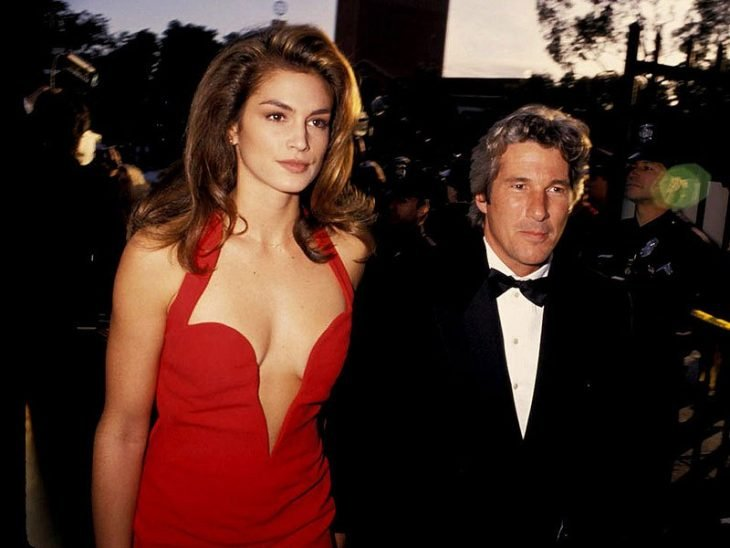Richard Gere y Cindy Crawford pareja