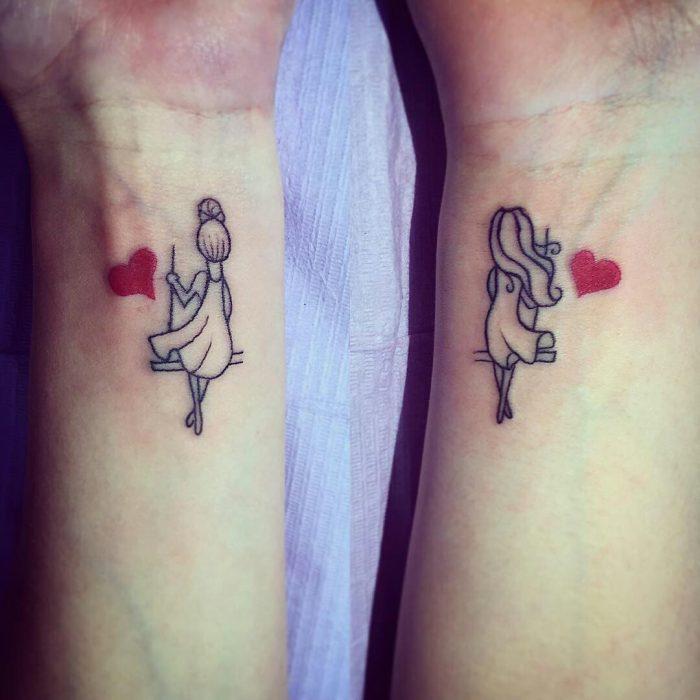 muñequitas tatuaje