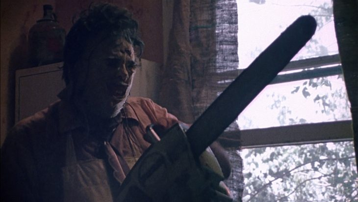 escena de The Texas Chain Saw Massacre
