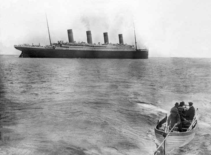 La última foto del Titanic antes de hundirse