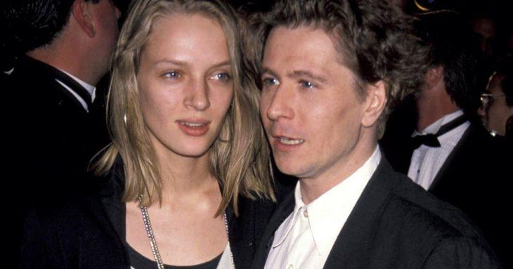 Uma Thurman y Gary Oldman pareja