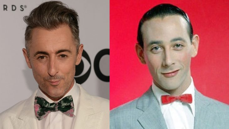 Alan Cumming y Pe Wee Herman