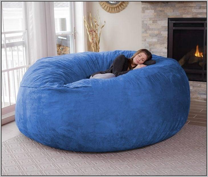 sill¿ón en forma de almohada gigante