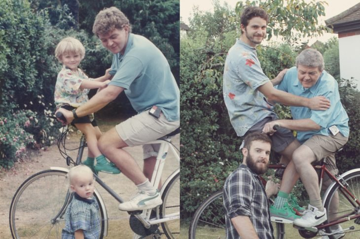 familia fotografía recreación
