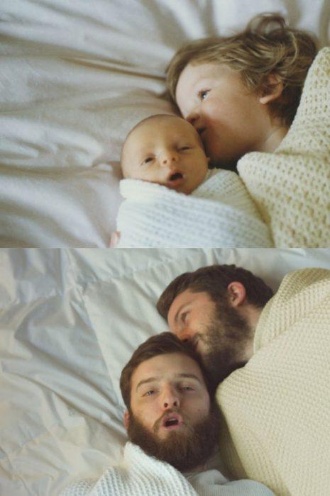 amor papá hermano