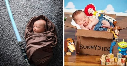 Cover Bebés recién nacidos que podrían ser los hijos de un geek