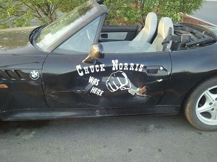 carro chuck norris