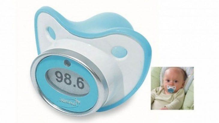chupón termómetro