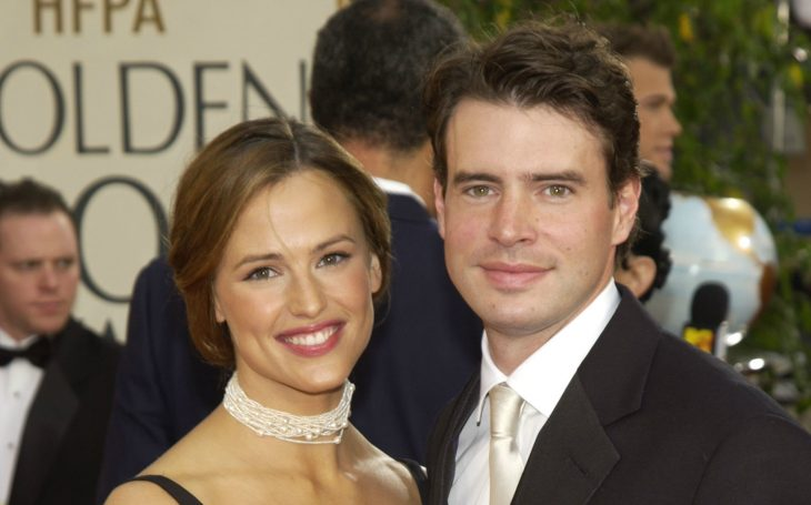 Jennifer Garner y Scott Foley pareja