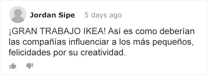 tuit Ikea experimento bullying plantas